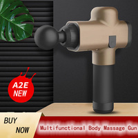Phoenix A2E Muscle Massage Gun Deep Tissue Massager Therapy Gun Exercising Muscle Pain Relief Body Shaping Massage#