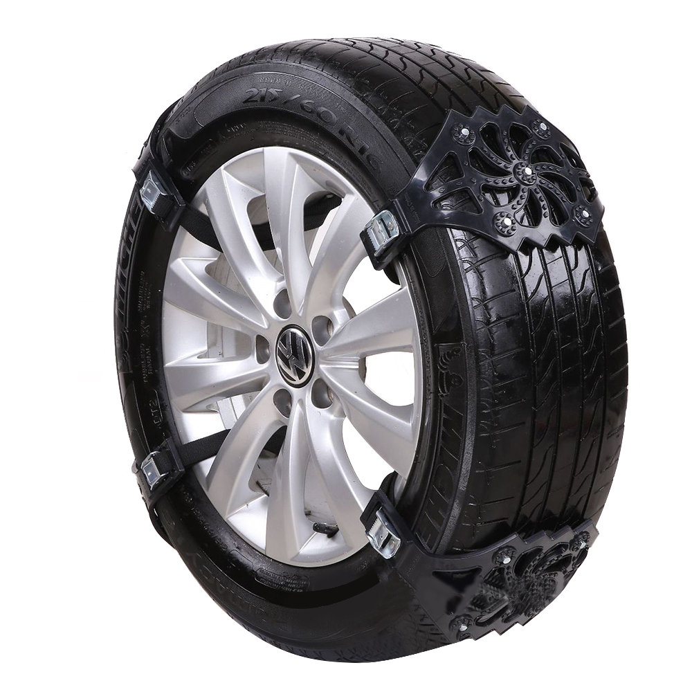 4PCS Anti-Skip Belt Auto Tire Snow Chains Easy Installation Simple Winter Truck Car Chain Anti-skid  Sep20