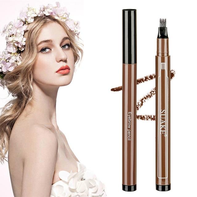 Eyebrows Enhancer Rising Eyebrows Growth Serum Eyebrow Pencil Long Lasting Professional Eyelash Growth Liquid Makeup Women 5