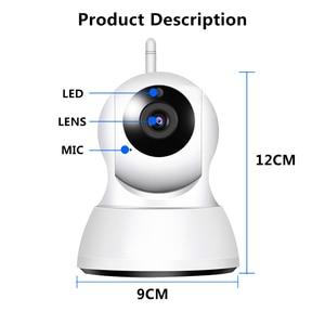 Image 5 - Câmera ip de segurança em casa áudio em dois sentidos hd 720p sem fio mini câmera 1mp visão noturna cctv câmera wi fi monitor do bebê