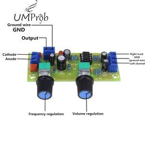 Image 1 - Placa amplificadora de frequência subwoofer, subwoofer 22hz 300hz placa de filtro de frequência para diy kit de