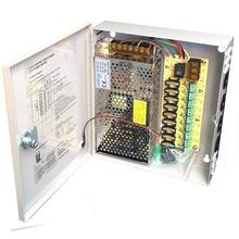 9CH AC100 240V To DC12V 5A 10A 15A Power Supply Box Adapter Transformer for CCTV Security Camera LED Strip String Light