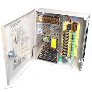 Image 1 - 9CH AC100 240V To DC12V 5A 10A 15A Power Supply Box Adapter Transformer for CCTV Security Camera LED Strip String Light