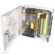 9CH AC100 240V To DC12V 5A 10A 15A güç kaynağı kutusu adaptör transformatörü CCTV güvenlik kamera için LED şerit dize ışık