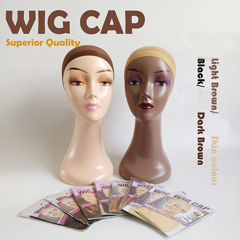 1 Pieces(1bags) Wig Nets Quality Wig Cap Hair Net For Weave Hair Stretch Mesh Wig Cap For Making Wigs One Size