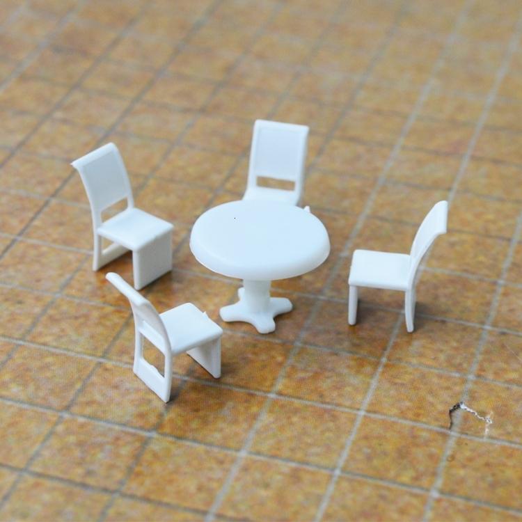Scale Model Furniture 1 75 Set Of Table
