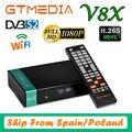 Full HD DVB-S2 GTmedia V8X H.265 Decoder Same as GTmedia V8 Nova Built in WIFI 1080P V8 Honor upgrade GTmedia V9 Super no app