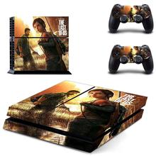 The Last of Us PS 4 Sticker Play station 4 Stickers, PS4 Skin Decal Pegatinas Adesivo For PlayStation 4 console and 2 controller