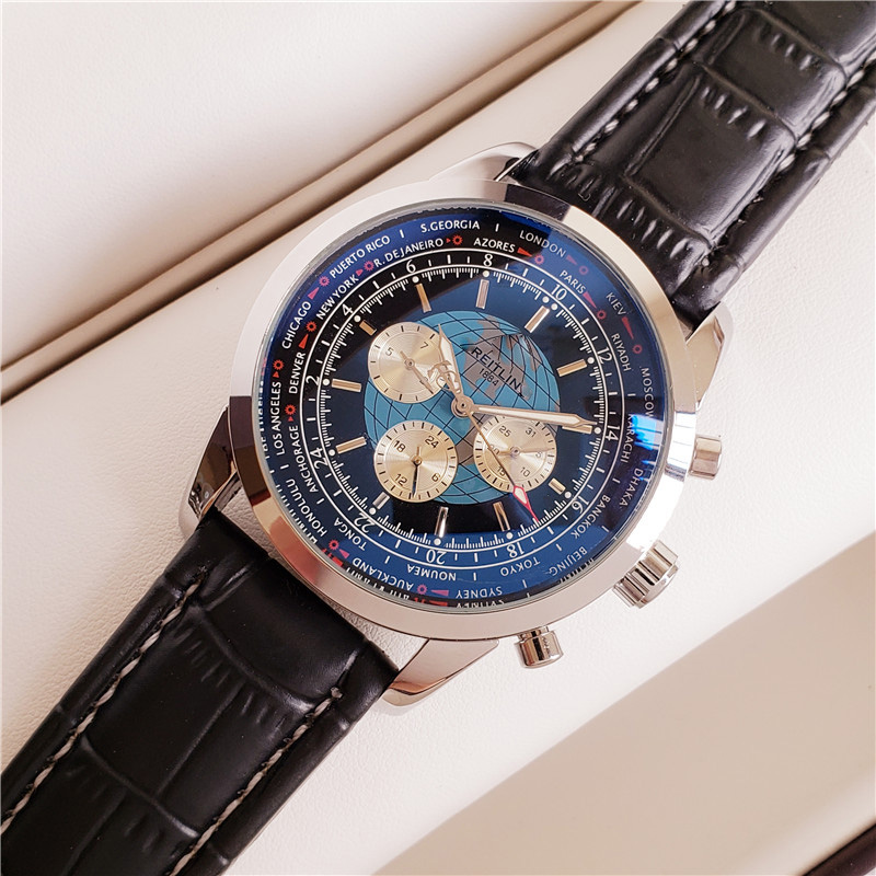 2020 Mens Watches Top Brand Luxury Waterproof Mens AAA  Mechanical Wrist Watch Male Leather Mens Sport Casual Wrist Watch
