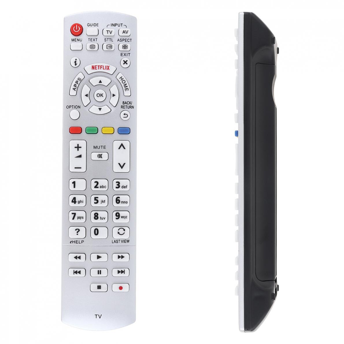 433MHZ Smart TV Remote Control with Long Control Distance Suitable for Panasonic N2QAYB001010 / N2QAYB000842 / N2QAYB000840