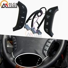 Accessoires de voiture, interrupteur de volant, commande Audio Radio, bouton audio pour Mitsubishi Pajero