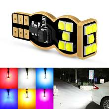 2pcs super bright 12v w16w t15 led bulb canbus 921 car backup