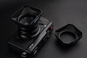 Image 5 - Retro Square Shape Lens Hood For Leica D LUX Typ109 Panasonic DMC LX100 LX100 Mark II Camera