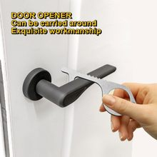 Contactless Safety Door Opener Safety Protection Isolation Brass Key Antimicrobial Door Opener Door Handle Key(China)