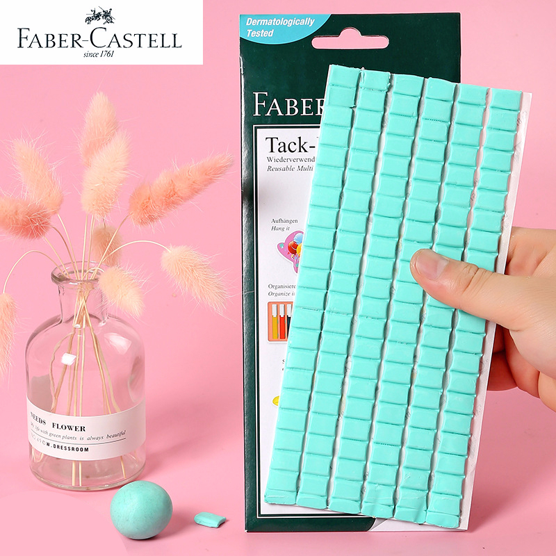 Faber Castell Multifunctional Double Sided Tape Deformable Strong Clay Glue Adhesive For Fixed Photo Wall & Decorative Supplies