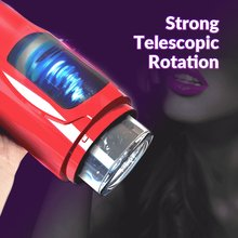 Automatic Telescopic Rotation Male Masturbator 7 adjustable Modes pussy adult Masturbator Cup Electric Climax Sex Toy for Men