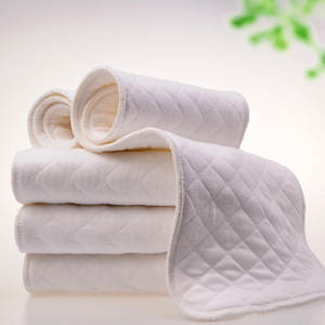 Baby Care Diapers Inserts Products Nappy Bamboo Washable Cotton Eco 1pc/6-Layers