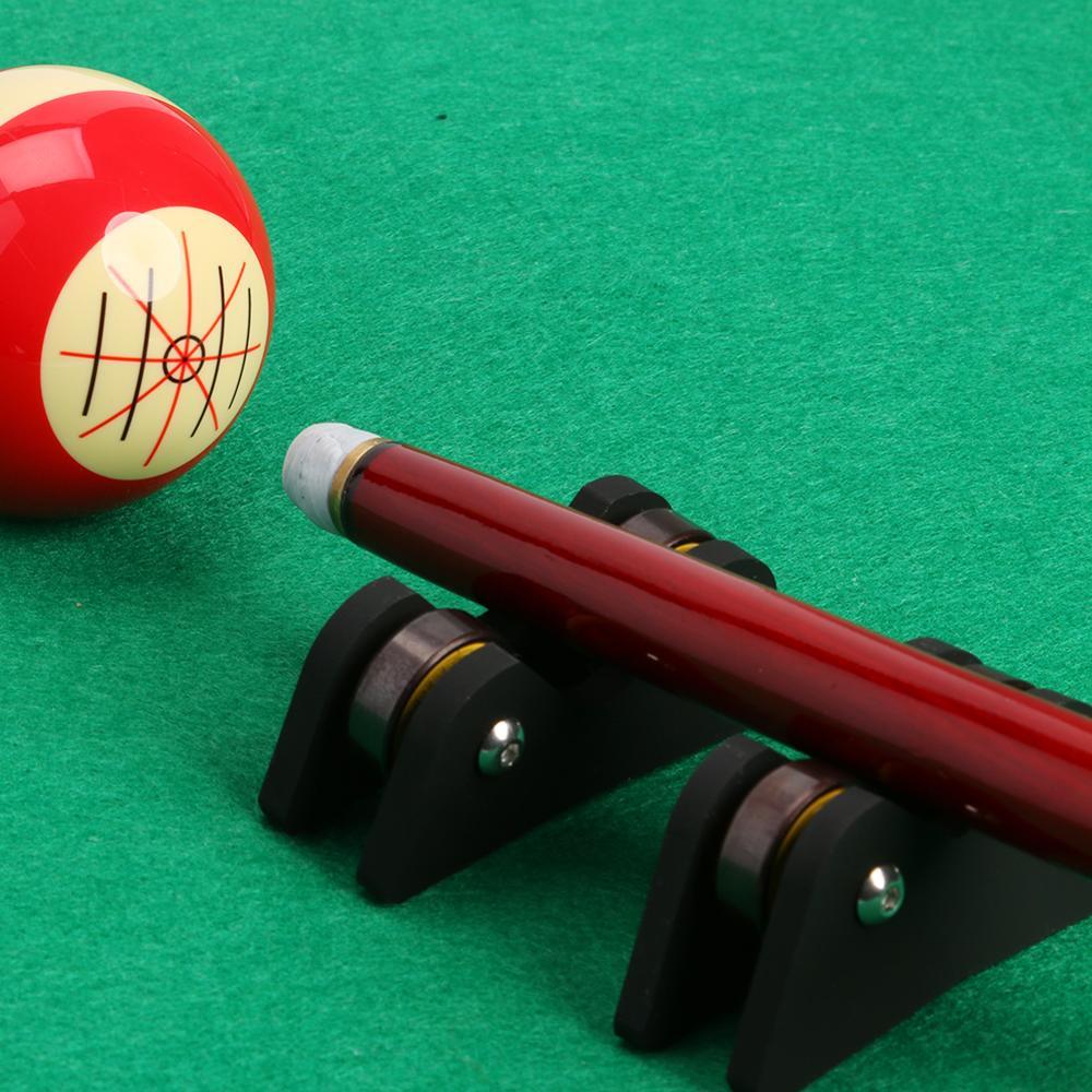 2pcs Billiards Pool Cue Straightness Checker Snooker Shaft Stick Tester Billiards Accessories Black