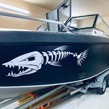 FD206 Hot Sale Fish Bone Stickers For Boat Body Decal Styling Engine Hood Decor Cruise Sticker Mural Vinyl Covers Autosticker