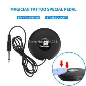 Image 4 - Top Selling Professionele Tattoo Machine Roterende Pen Pak Tattoo Pen Mini Voeding Voetpedaal Tattoo Supply Gratis Levering