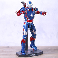 Avengers HC MMS195 Iron Man with LED Light PVC Action Figure Model Toys Doll For Gift