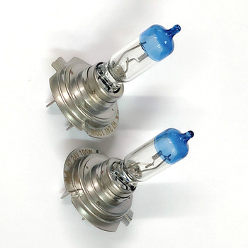 2x H7 24V 100W wysokiej mocy żarówki reflektorów samochodowych lampa przeciwmgielna do samochodów 4300K ksenonowe żółte 24V H7 reflektor 100W tanie i dobre opinie 24 v Pegasus