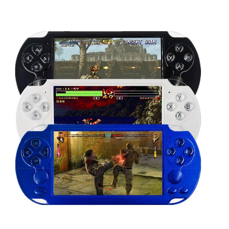 X9 PLUS 32 bits rétro Console de jeu portable 8G ROM 5.1 pouces 1280*720 écran HD construit en 1000 + jeux vidéo lecteur de jeu portable