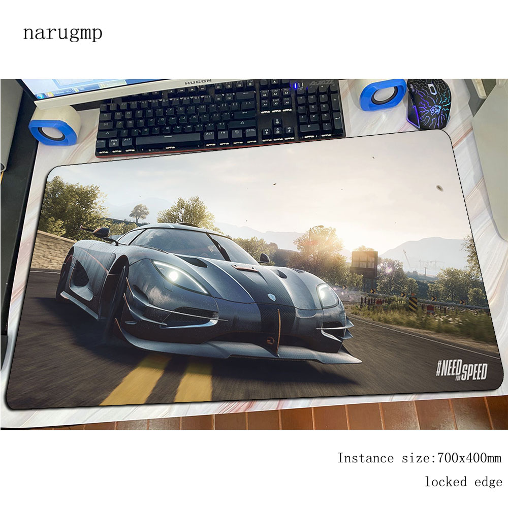 need for speed mouse pad gamer mousepad Halloween Gift rubber desk mat Fashion gaming padmouse car game keyboard mats oversized image
