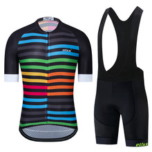 2020 etixxl Pro team AERO cycling jersey and shorts for race court Italy miti jersey fabric Top quality bib set for long trips