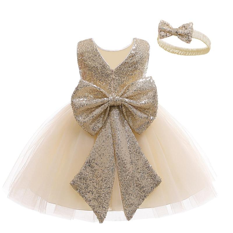 Newborn Dress For Girls Kids Unicorn Dresses Baby Girls 1st Birthday Wedding Princess Dresses For bridesmaids Infant Vestidos 2Y