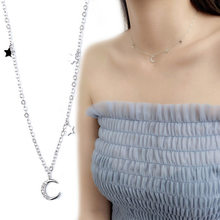 Женское Ожерелье-чокер с подвеской в виде звезд и Луны