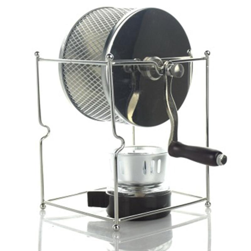 DIY Stainless Steel Coffee Bean Baked Machine Mini Manual Beans Roaster(China)
