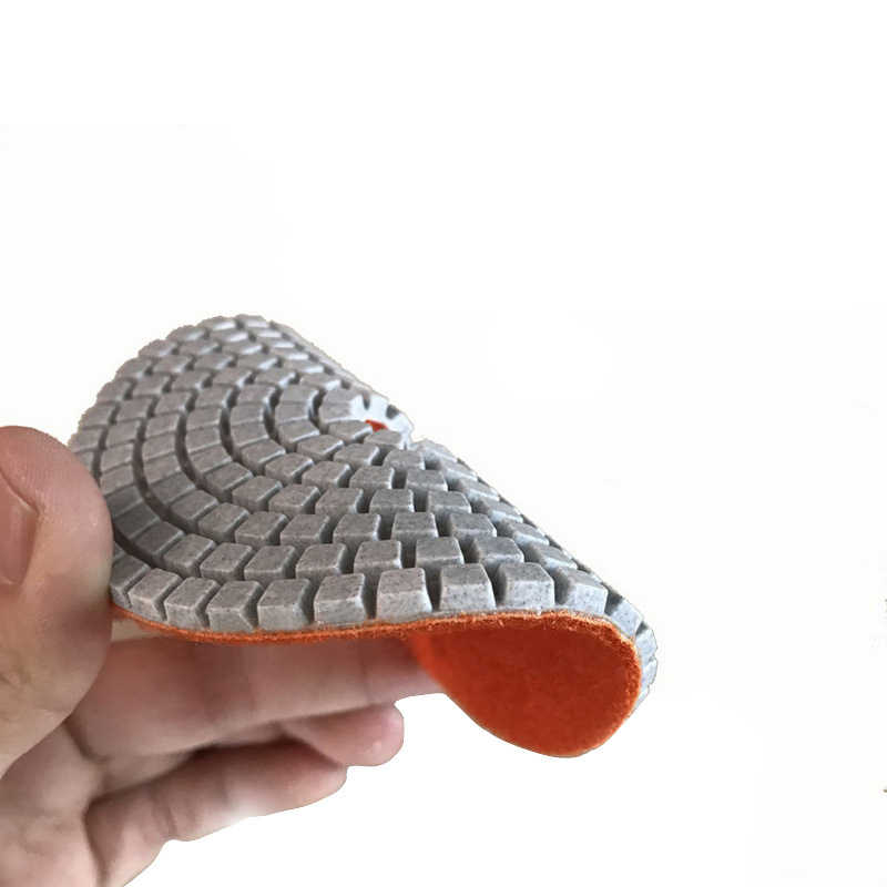 16 Uds 4 pulgadas 100mm almohadillas de pulido de diamante Kit húmedo/seco de piedra de granito de mármol pulido uso piso de Set de discos