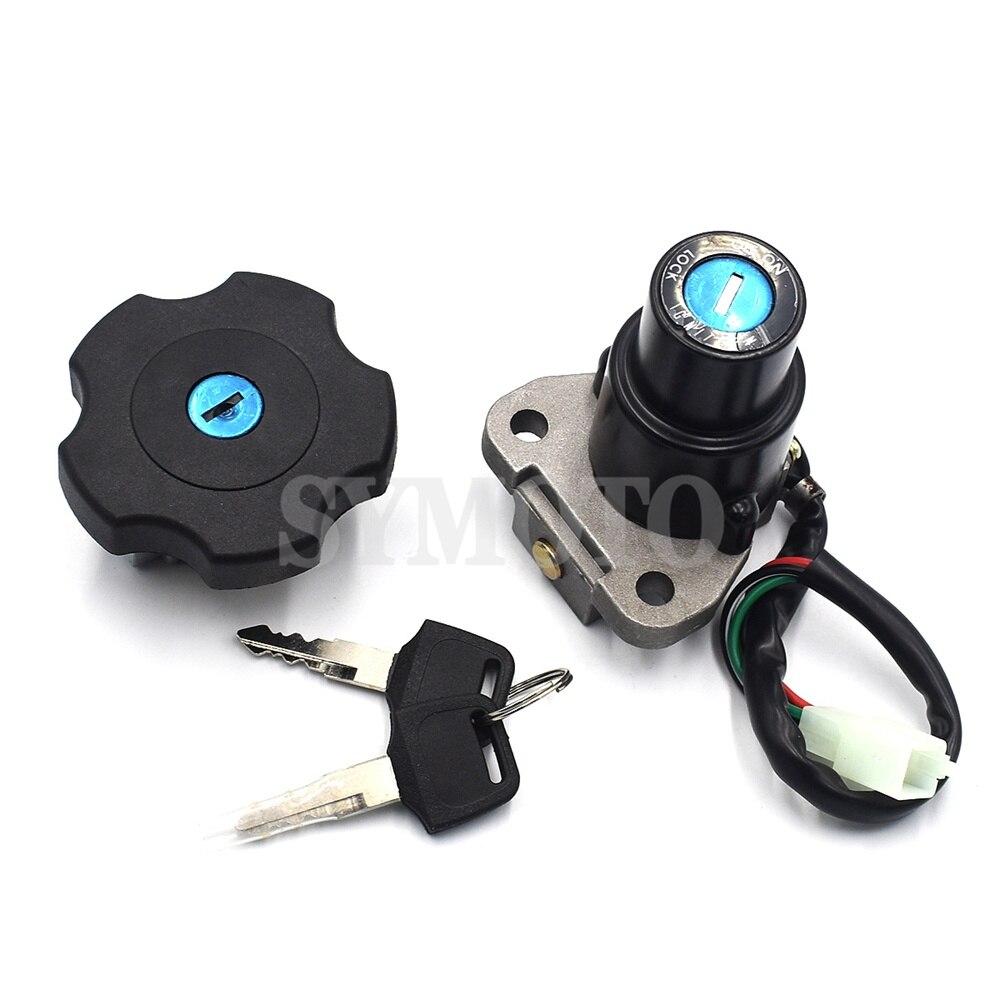For Yamaha XT600 TW200 2003-2017 DT200 DT200R 1991-1994 XT225 Serow 225 Motorcycle Ignition Lock Tank Cap Lock Key Set