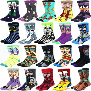 New Cotton men Women's Crew Socks Funny Harajuku Cute Novelty Cartoon sloth Anime Game socks Christmas Skateboard Sock Gift