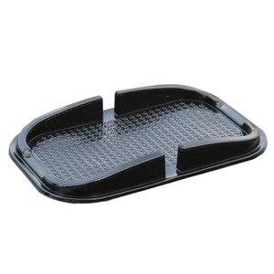 Image 4 - אוניברסלי ברכב אוטומטי פנים Accessoies דברים רצפת טלפון גאדג ט מחצלות שטיח אחיזת החלקה Pad GPS מחזיק מחצלת אנטי החלקה