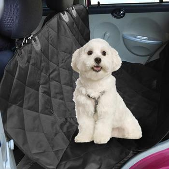 600D Oxford Cloth Universal Car Pet Seat Mat Waterproof Large Size Pet Dog Mat Blanket Cover Car Seat Cover image