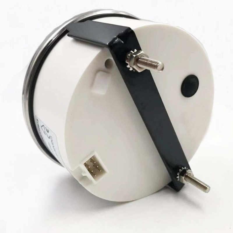 52 Mm Kỹ Thuật Số Đo Tốc Độ Xe Tải Xe Tải Thuyền Tacho Đo Với Hourmeter Cho Diesel, động Cơ Xăng 12 V 24 V Đỏ Đèn Nền