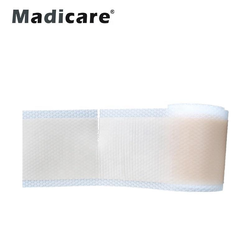 Силиконовые шрамы смягчают шрамы в результате хирургии, травм, ожогов, угревой сыпи, С-сечение и многое другое, мягкая силиконовая лента
