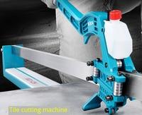 Cortador infravermelho manual das telhas do assoalho da elevada precisão 6-15mm da máquina de corte da telha do laser do cortador 800mm/1000mm/1200mm