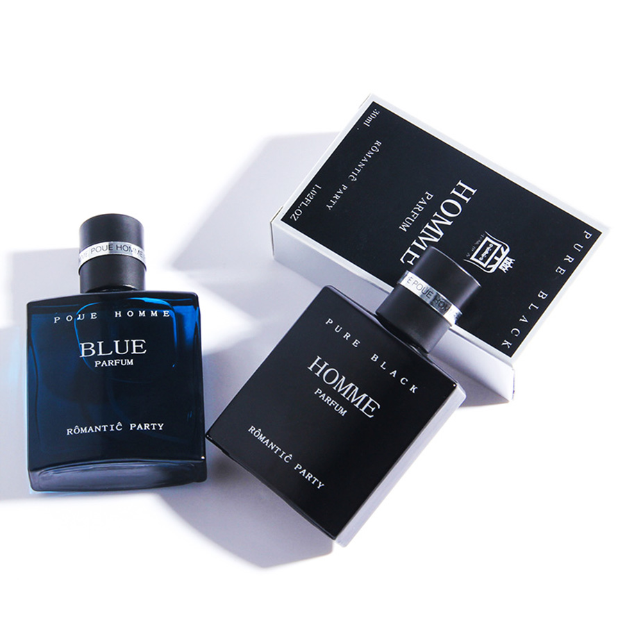 Original 30ML Perfume Men Fresh Man Long Lasting Fragrance Marine Woody Cologne Spray Bottle Parfum Antiperspirant Perfumes
