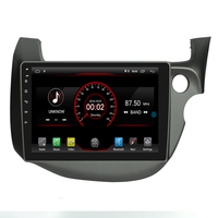 10.2 2din android 9.0 Car Radio Car DVD Player for FIT/ JAZZ 2009 2013 (RHD)right hand drive head unit Car Audio Stereo BT USB