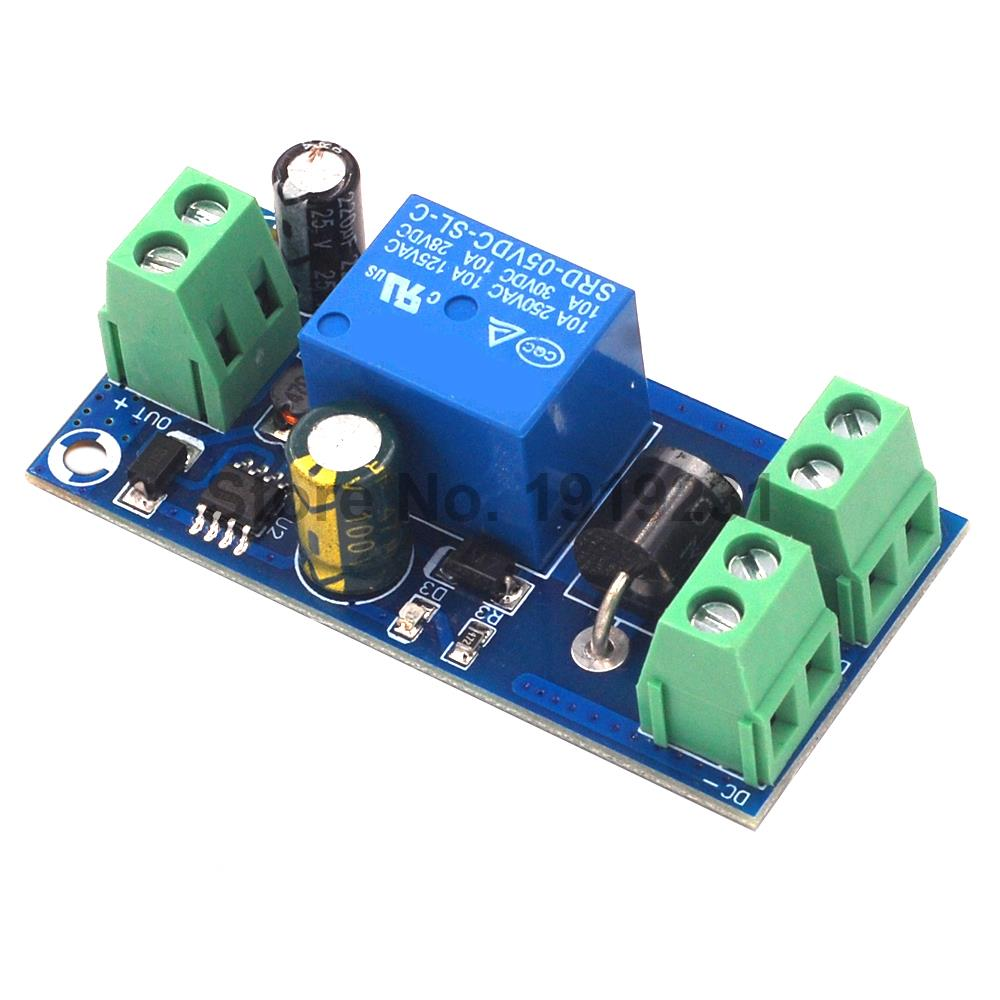 Power Supply 5V to 48V Board Relay Module Power-OFF Protection Module Automatic Switching Module UPS Emergency Cut-off Battery