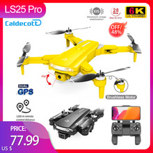 Caldecott LS25 Pro GPS Drone 6K HD Camera Professional Aerial Photography Brushless Foldable Quadcopter RC Distance 2000M Gifts