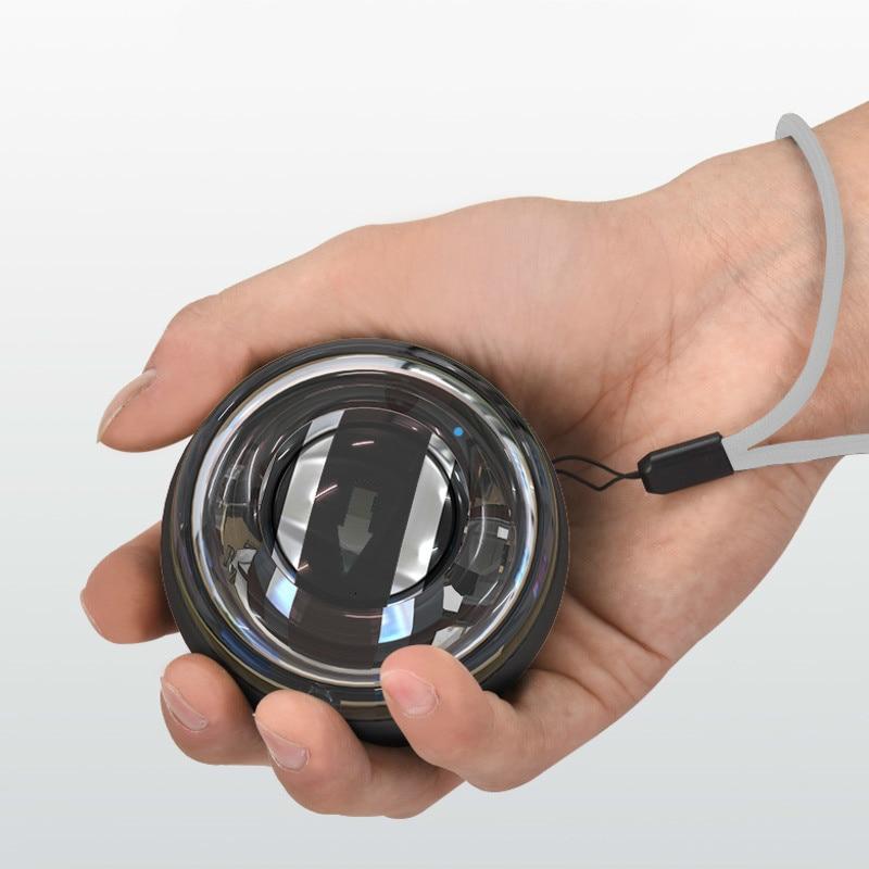 Auto-Start Spinner Kreiselsicherheitssensor Handgelenk Power Ball Selbst generierende PowerBall Mit LED Licht Arm Finger Handgelenk Muscle Handgelenk-stärkungsmittel-ball