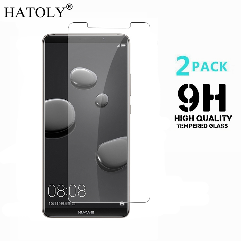 2PCS Tempered Glass Huawei Mate 10 Pro Screen Protector For Huawei Mate 10 Pro Toughened Film Huawei Mate 10 Pro Glass 6