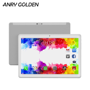 New Tablet Pc 10.1 inch Android 8.1 Google Play Tablets Pc 4G Phone Call Laptop 10 Tablets Phablet  WiFi Bluetooth GPS Global цена 2017
