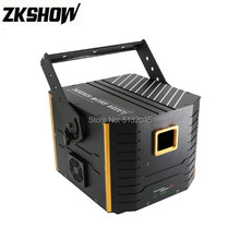 3W 4W 5W Full Color LED Animation Laser Light DMX ILDA Control for DJ Disco Nightclub Music Show Bar Performance Stage Lighting(China)
