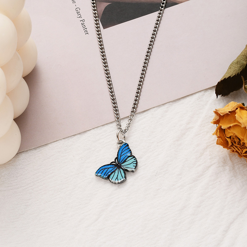 Stripe Blue Necklace