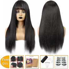 brazilian hair wigs short straight cheap human hair wigs for black women pixie cut wig With Bangs bob wigs machine made Non-Remy hot selling bob wig with side bangs cheap good quality straight short cut wigs for black women